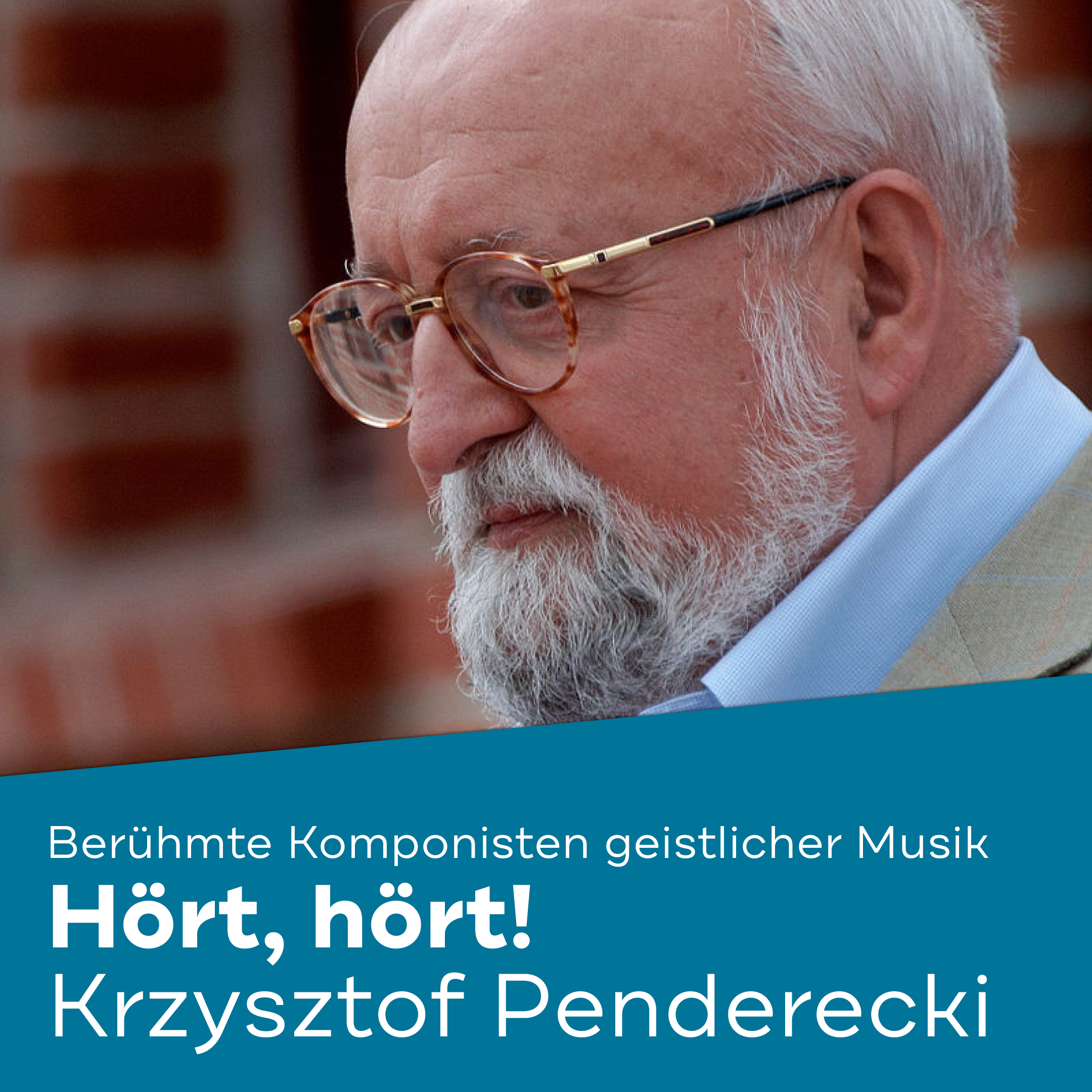 Hört, hört Penderecki